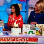 Very excited to have had my baby shower cake featured on the Today show (Tuesday 9th July 2013)