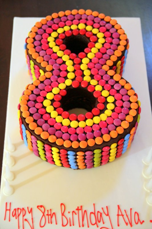 Number Cakes - Emma Townsend Cakes Sydney
