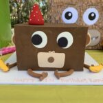 kids cake rectangle chocolate ganache themed cake birthday